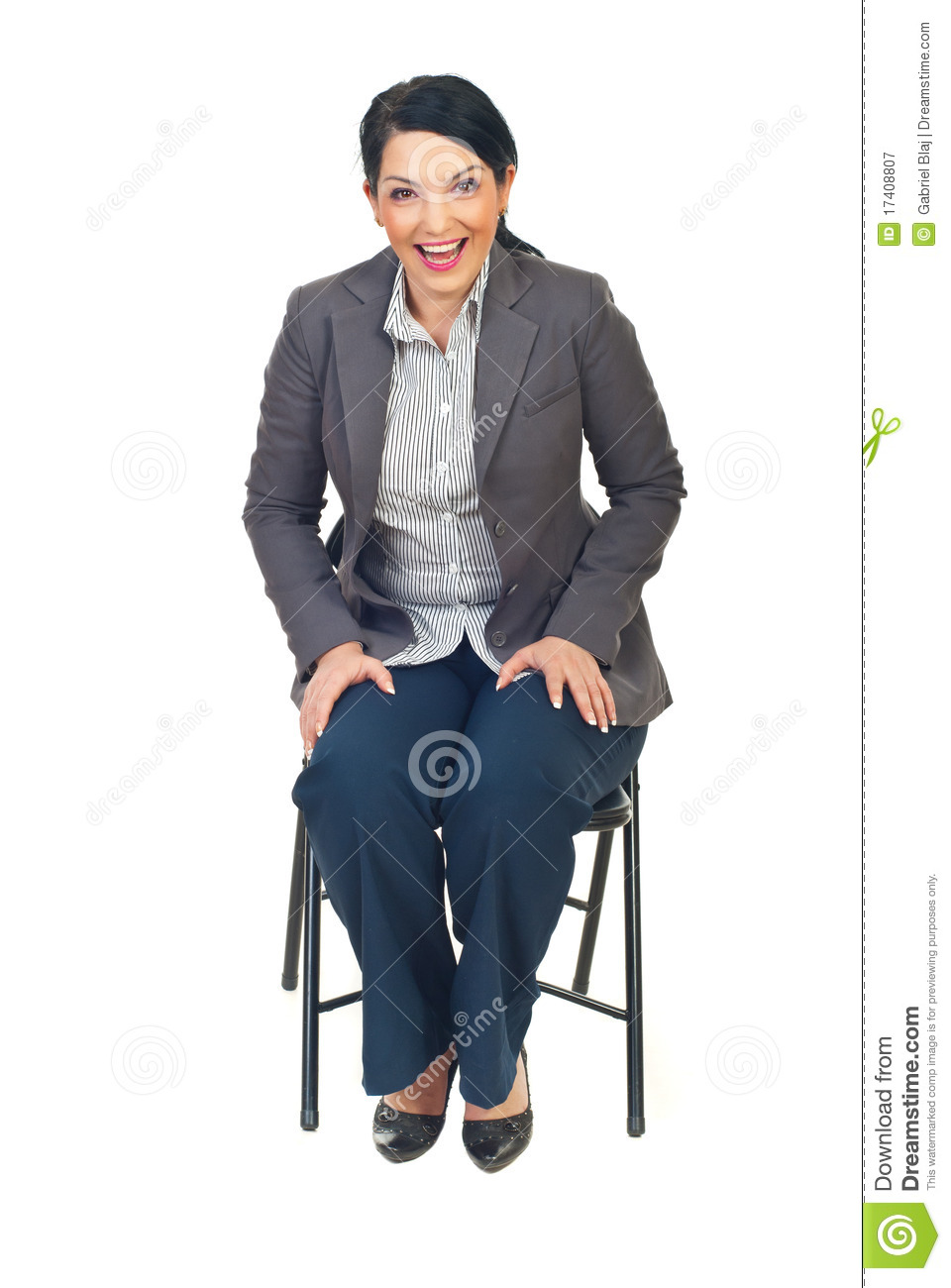 Executive Woman Sit On Chair And Laughing Out Loud Royalty  : executive woman sit chair laughing out loud 17408807 from dreamstime.com size 960 x 1300 jpeg 173kB