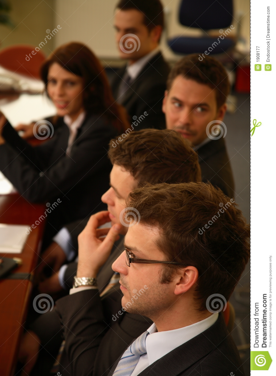 Executives In a Conference