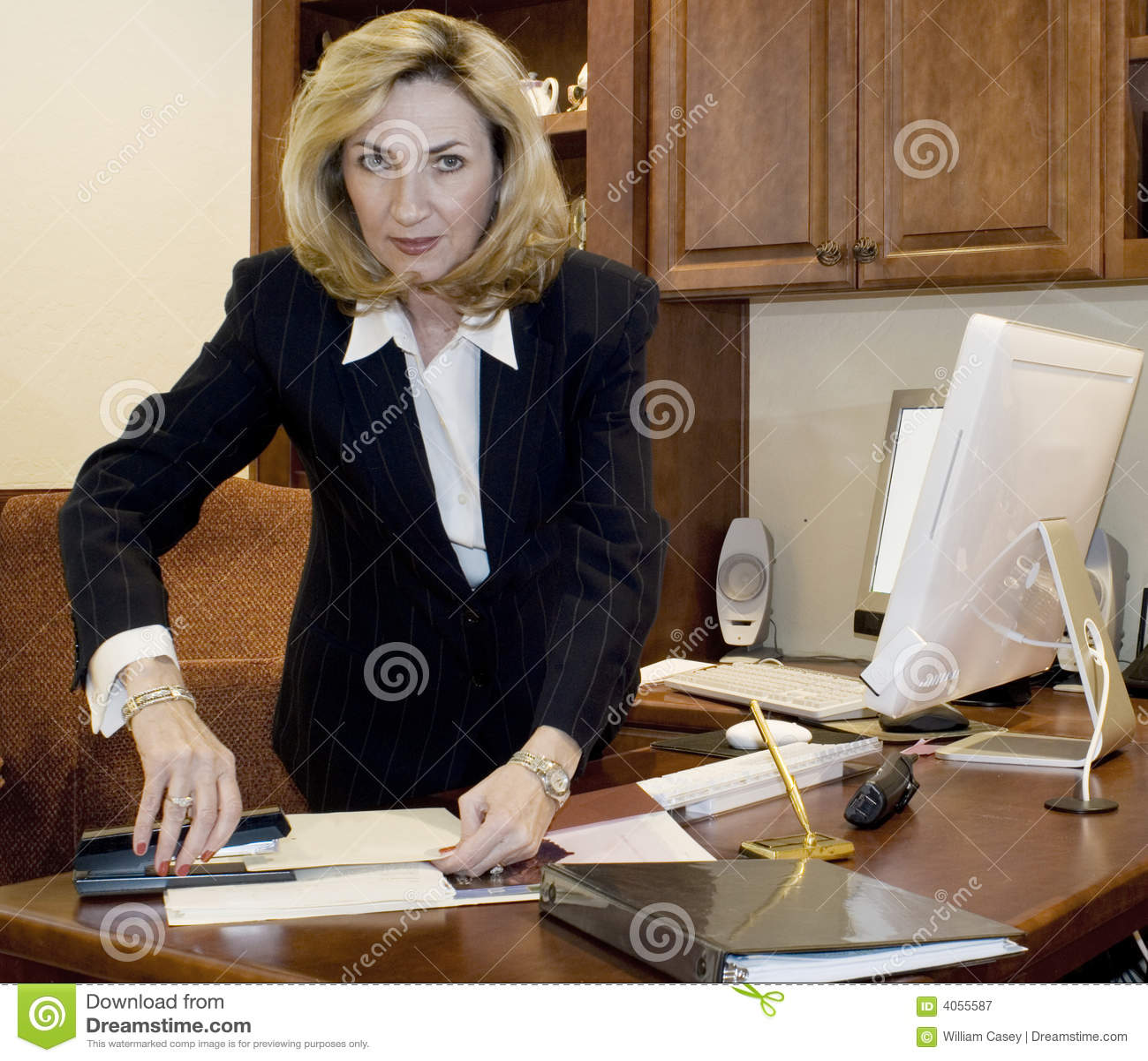 Executivo fêmea