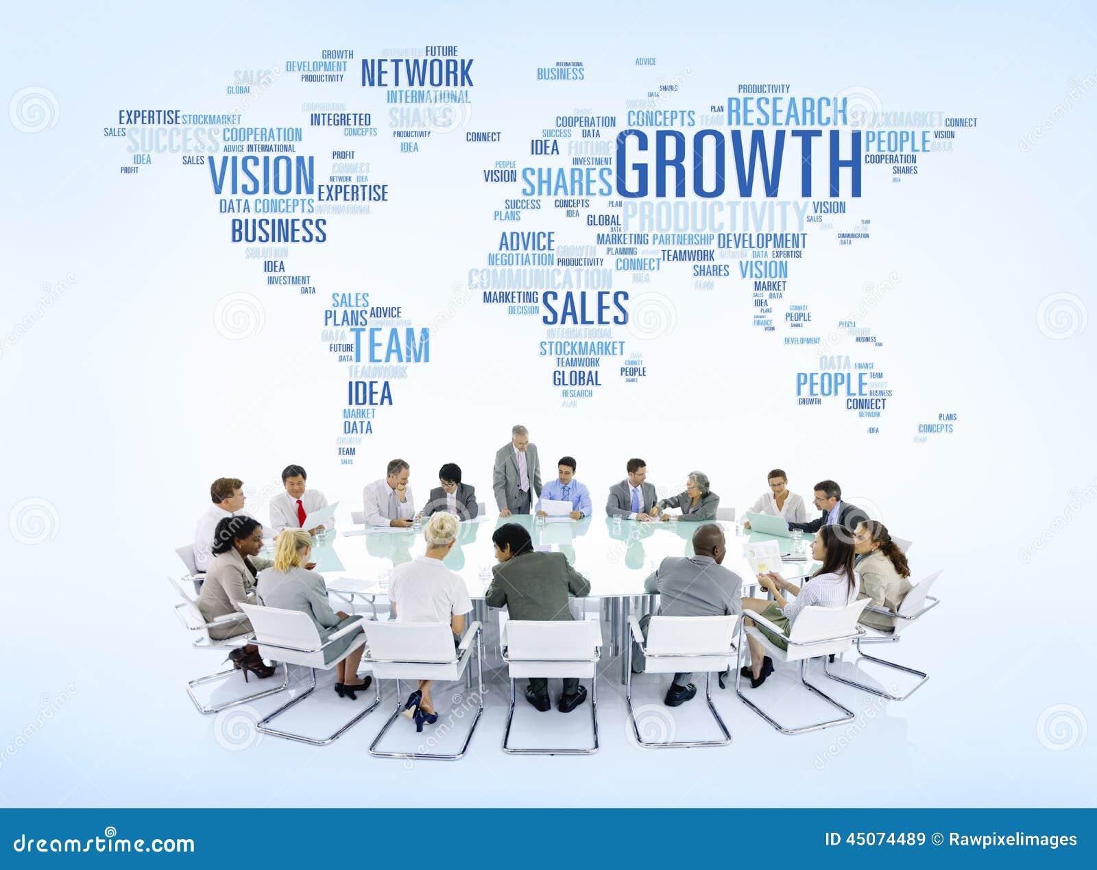 Executivos conectados em todo o mundo
