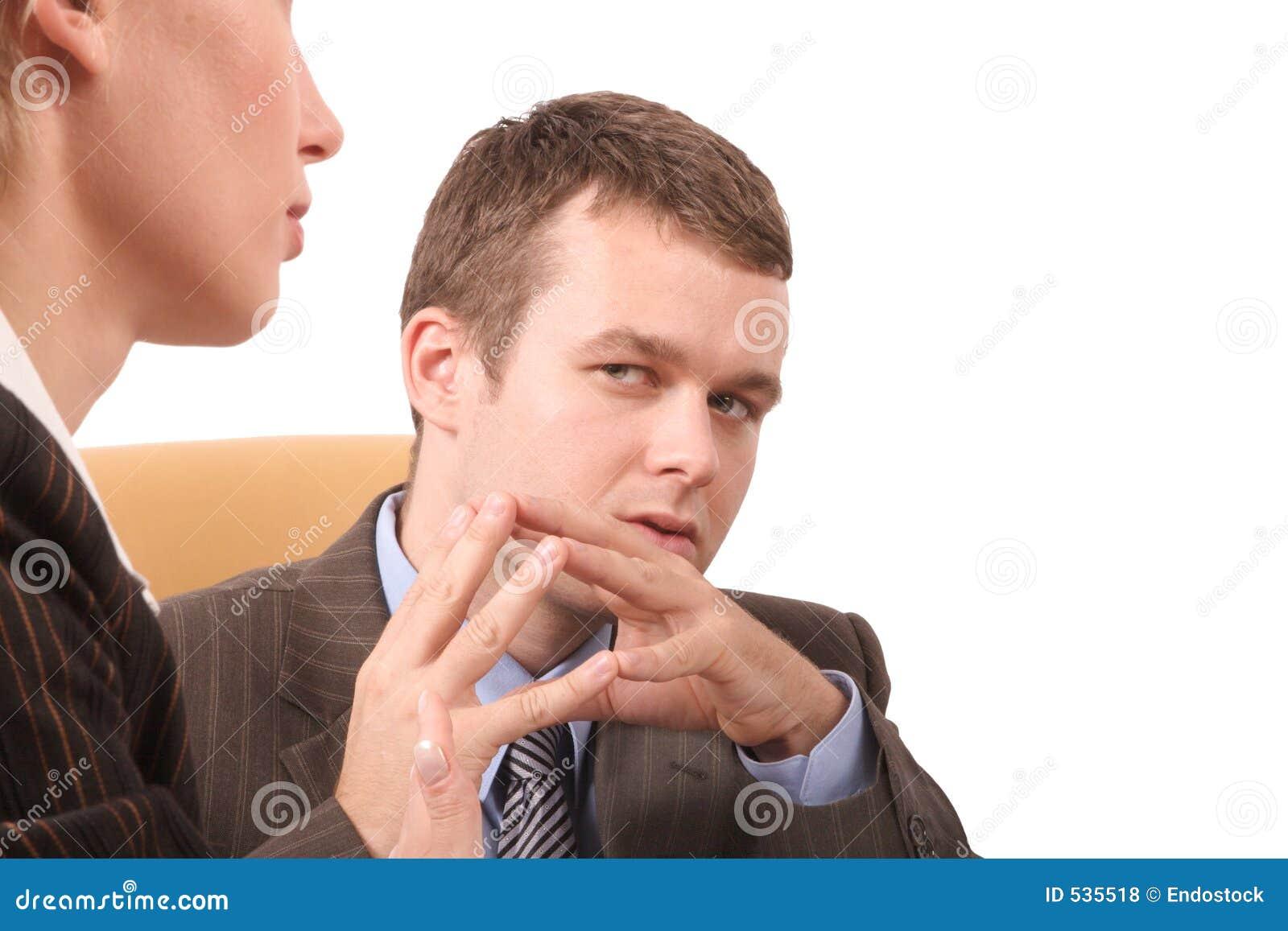 Executivos da conversação - ascendente próximo