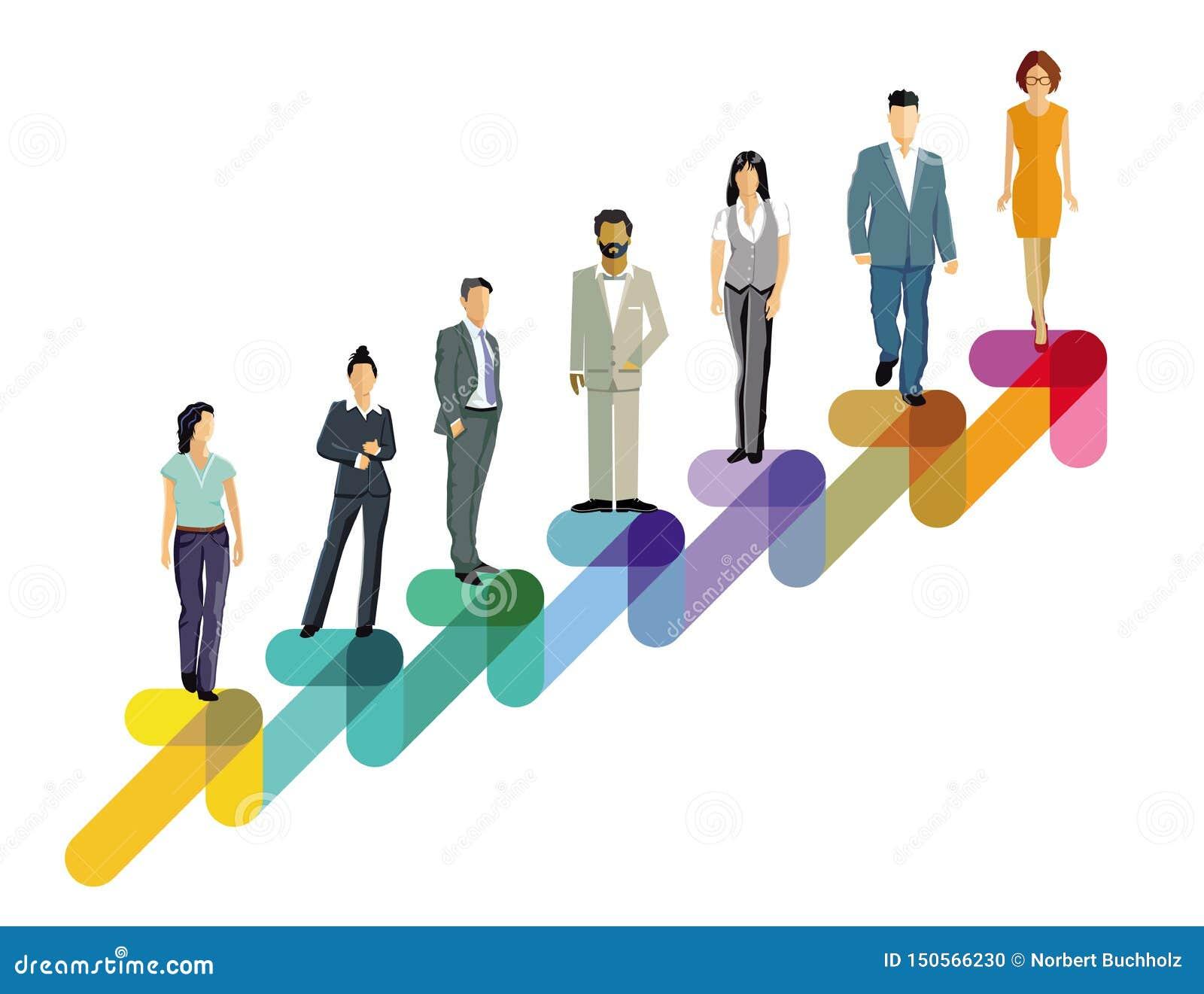 Executivos de ascensão