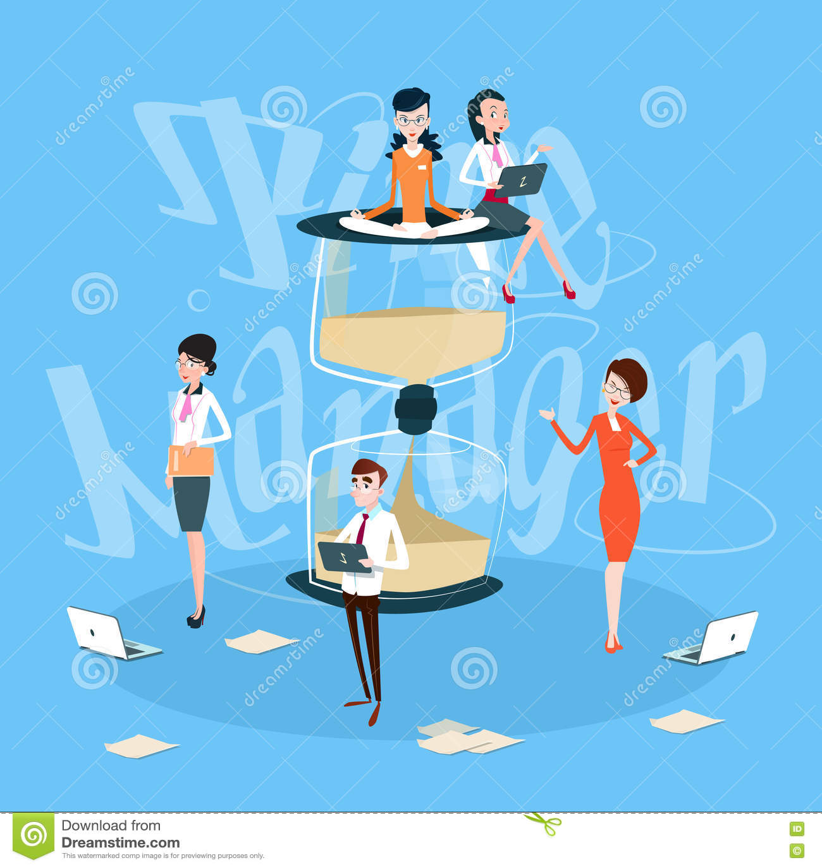cc2ddbc162e Executivos De Team Working Process