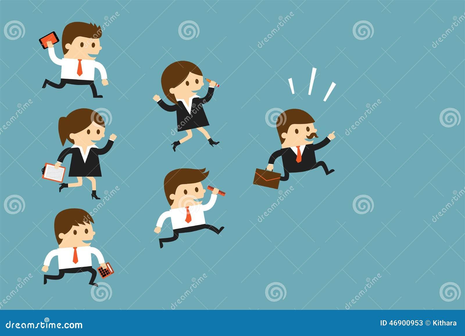 Executivos depois do líder