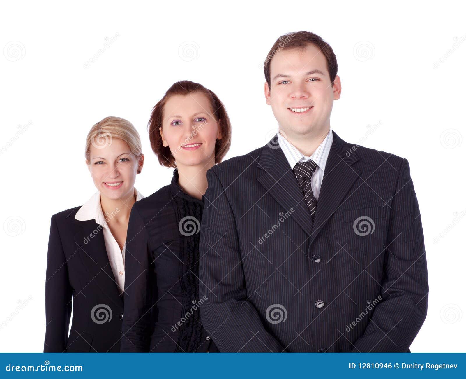 Executivos e equipe