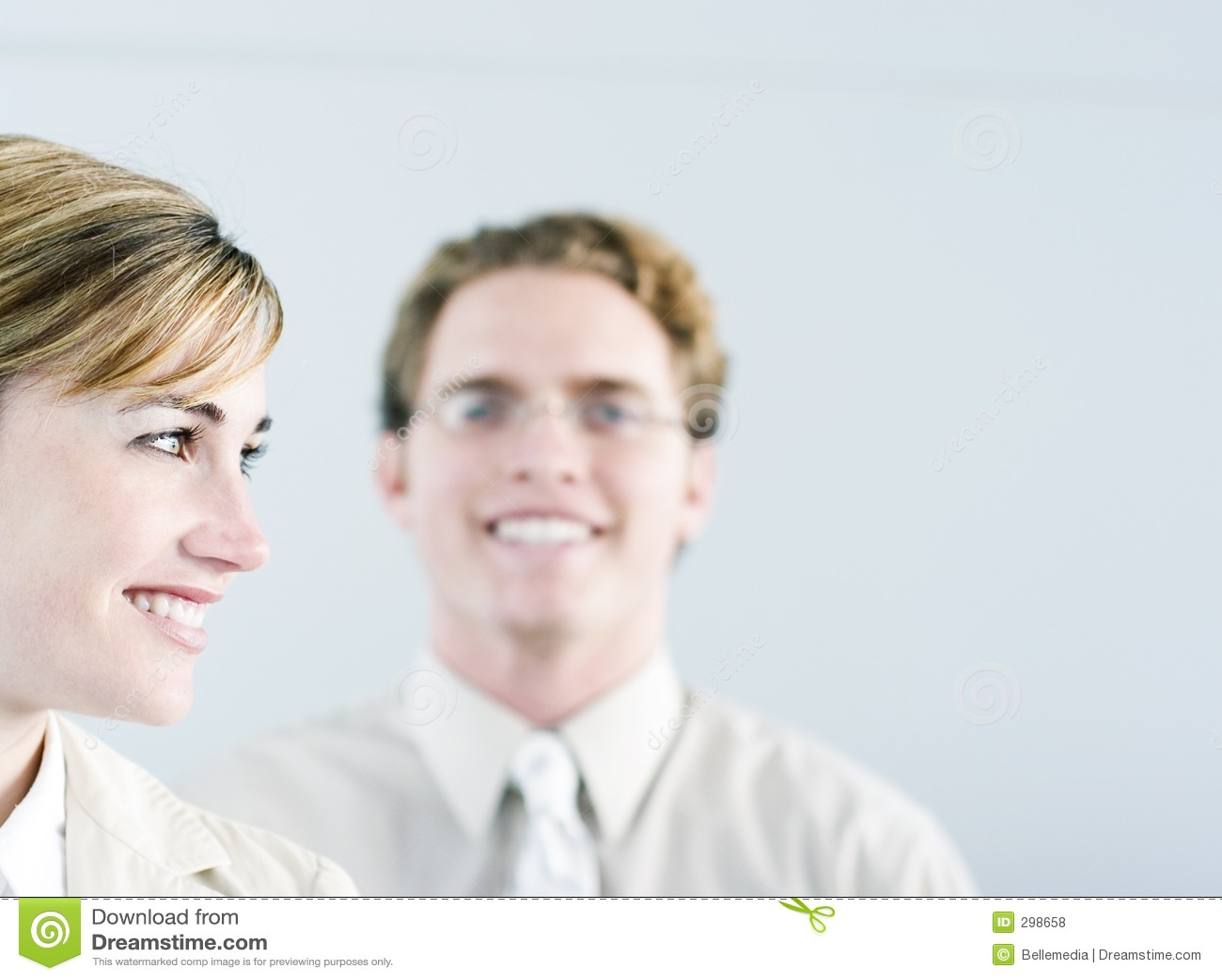 Executivos felizes