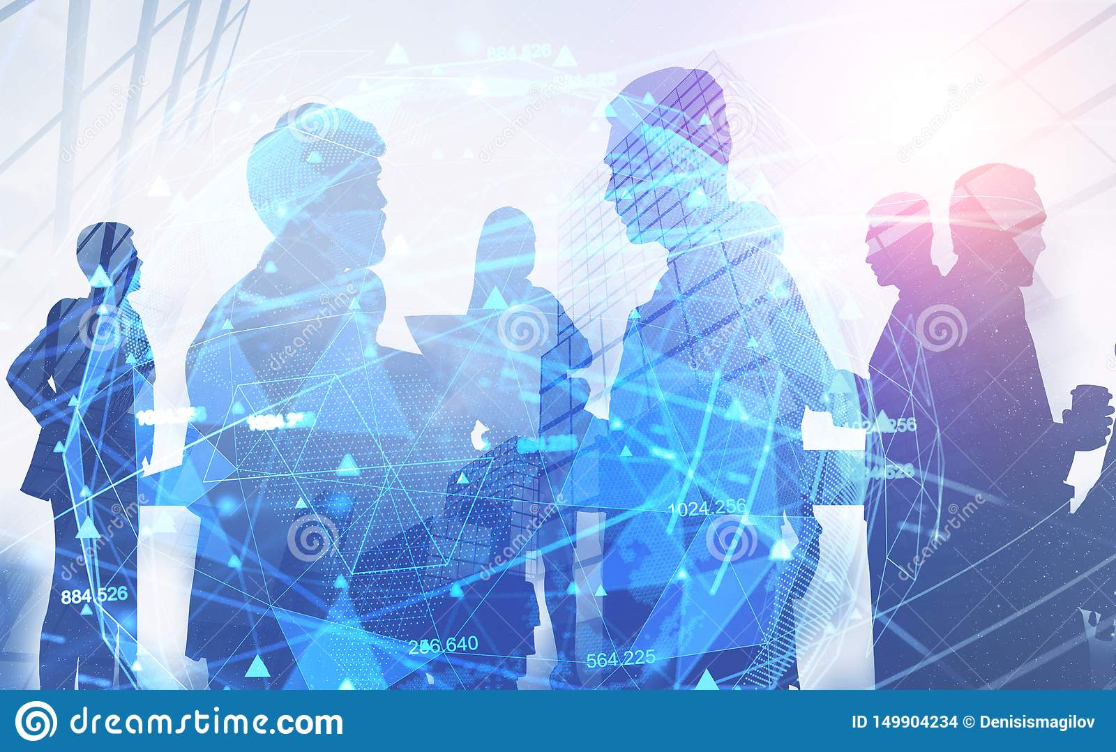 Executivos na cidade, rede digital