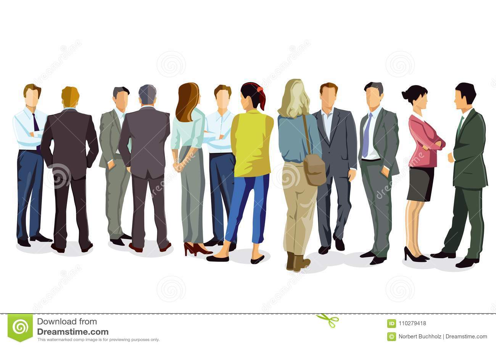 Executivos que têm a conversação