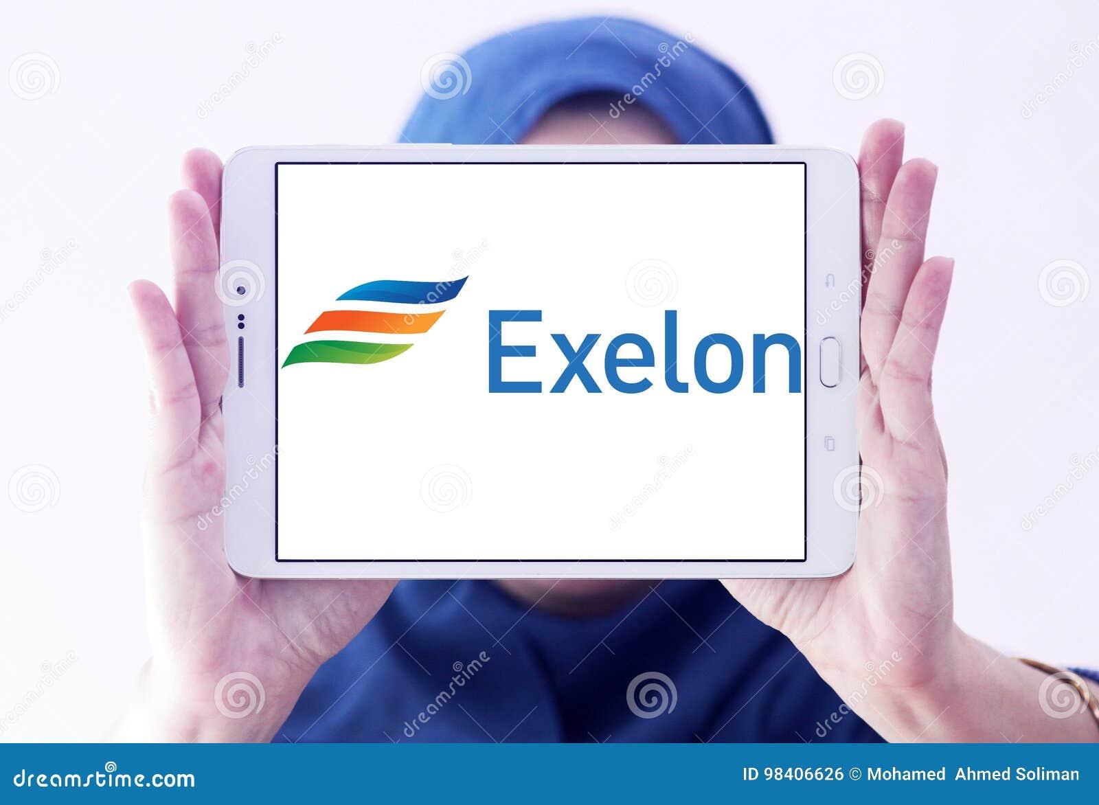 Exelon Energy Company Logo Editorial Photo Image Of Brand 98406626