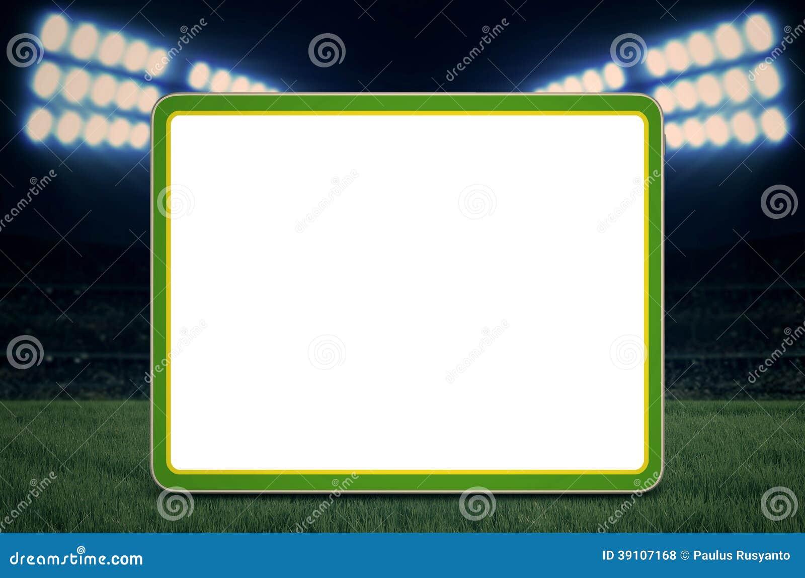 Exemplaarruimte voor voetbalspel