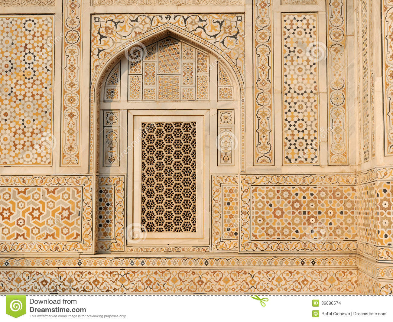 Exemple D 39 Architecture Indienne Typique Photo Stock