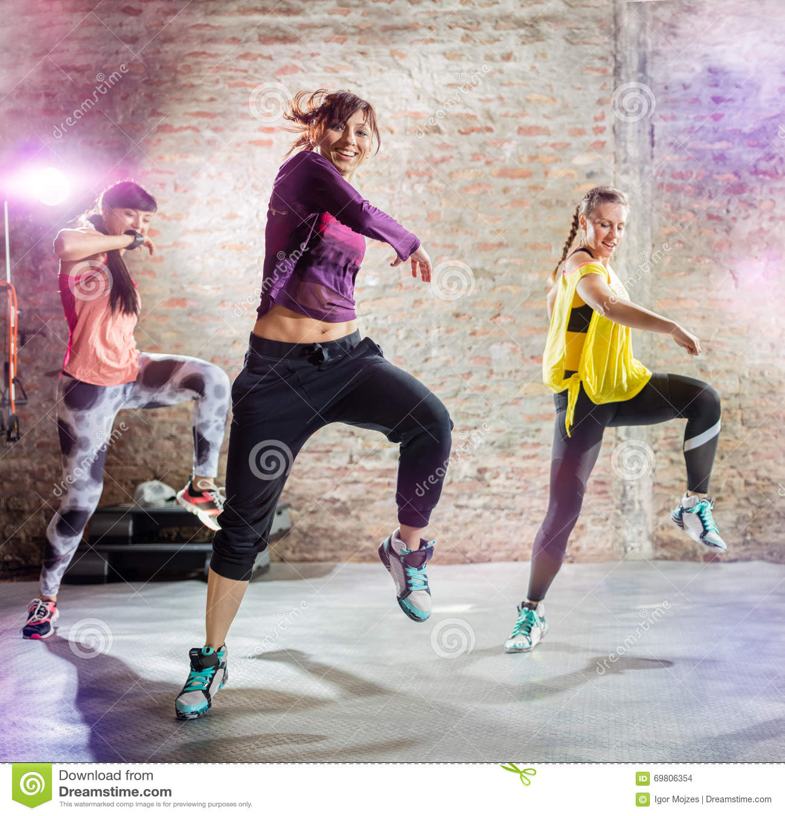 Exercício da dança