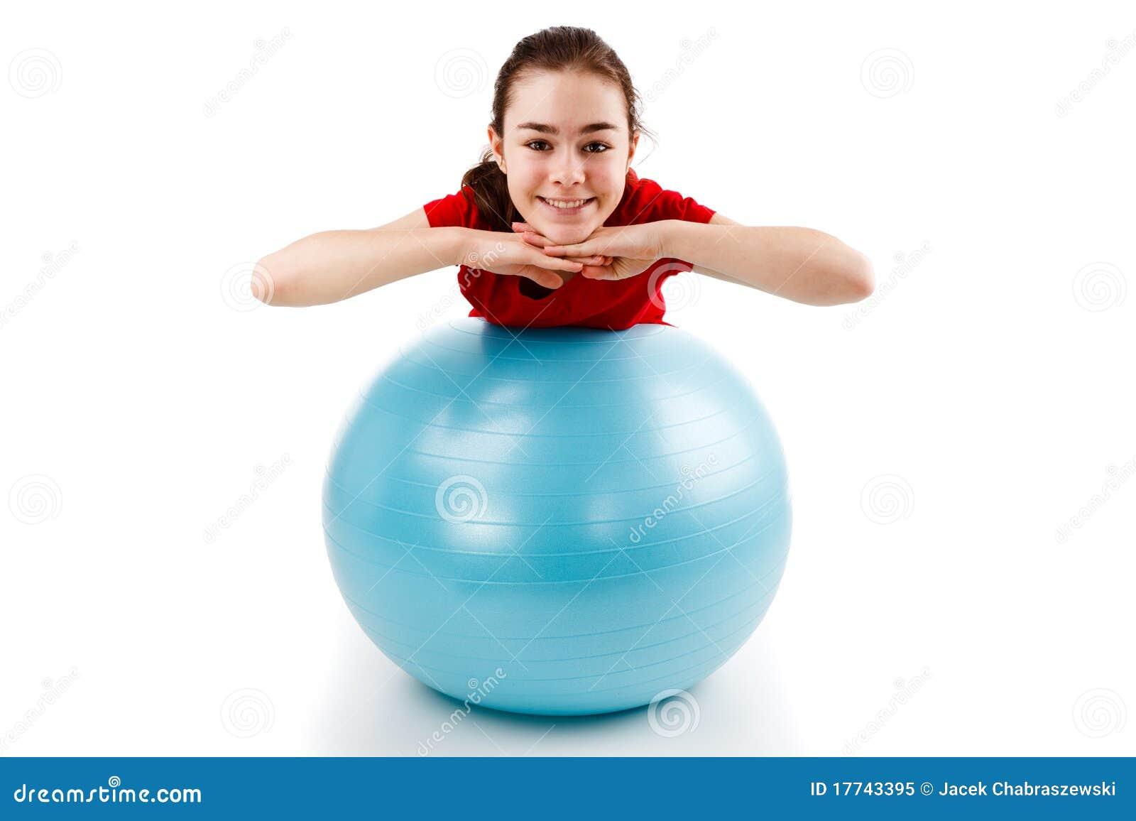 Exercício da menina