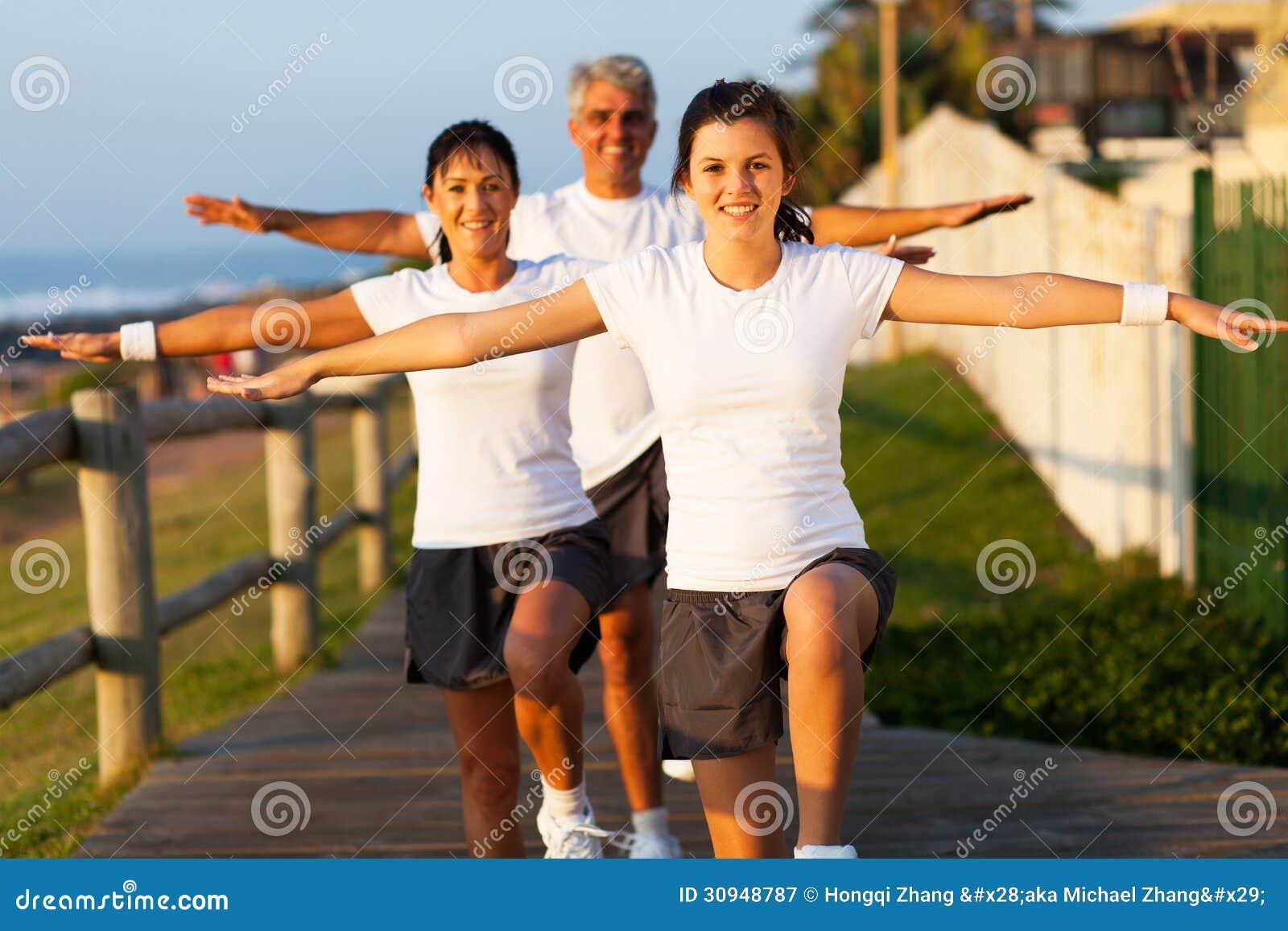 Exercice actif de famille