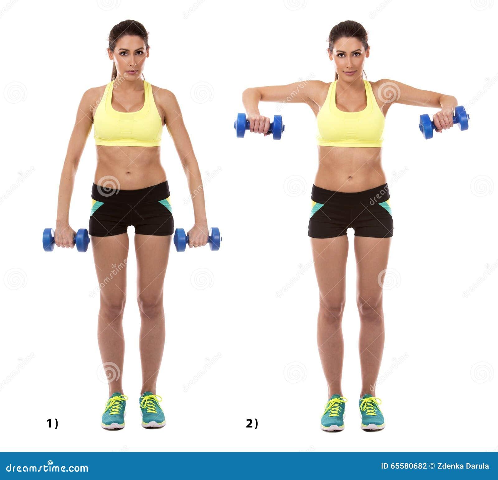 exercice de bras photo stock image du athl te nergie 65580682. Black Bedroom Furniture Sets. Home Design Ideas