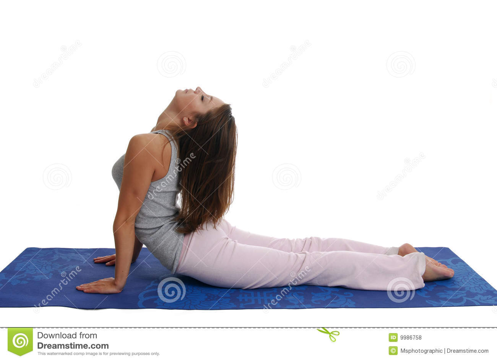 exercices de yoga photos libres de droits image 9986758. Black Bedroom Furniture Sets. Home Design Ideas