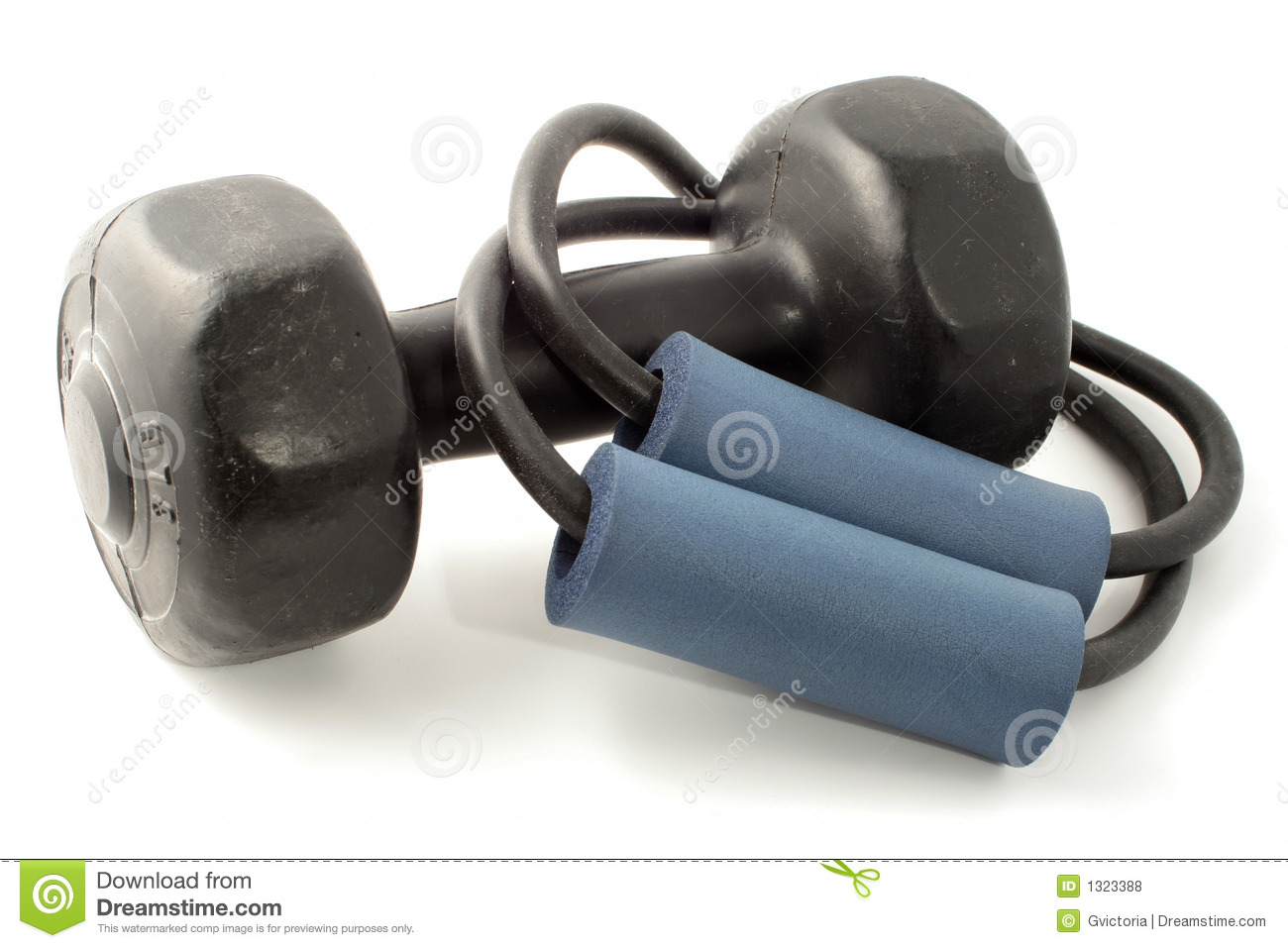 Exercise equipment stock photo  Image of stretchy, portable