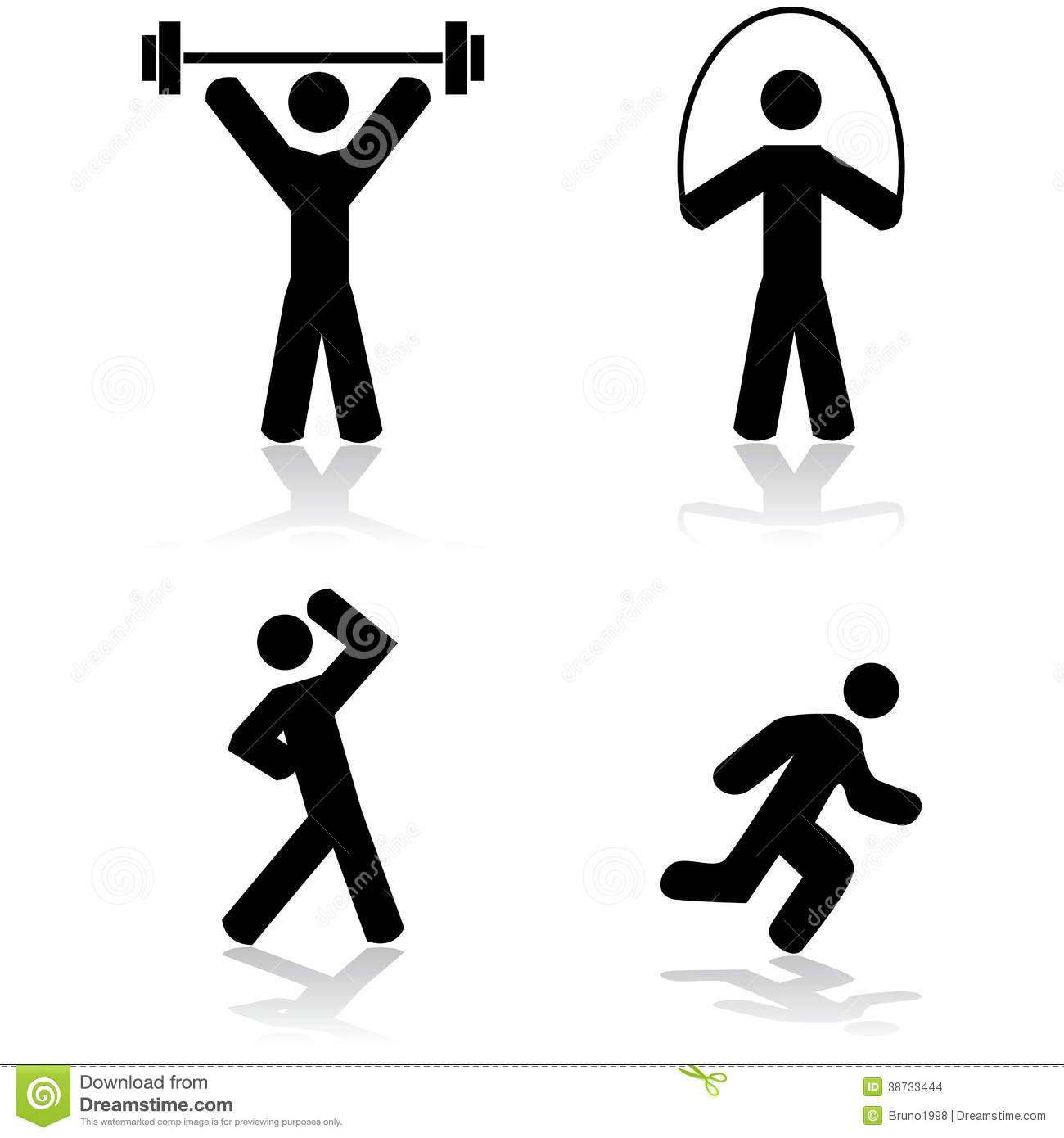 exercise icons stock vector illustration of concept stick figure vector free download stick figure vector art