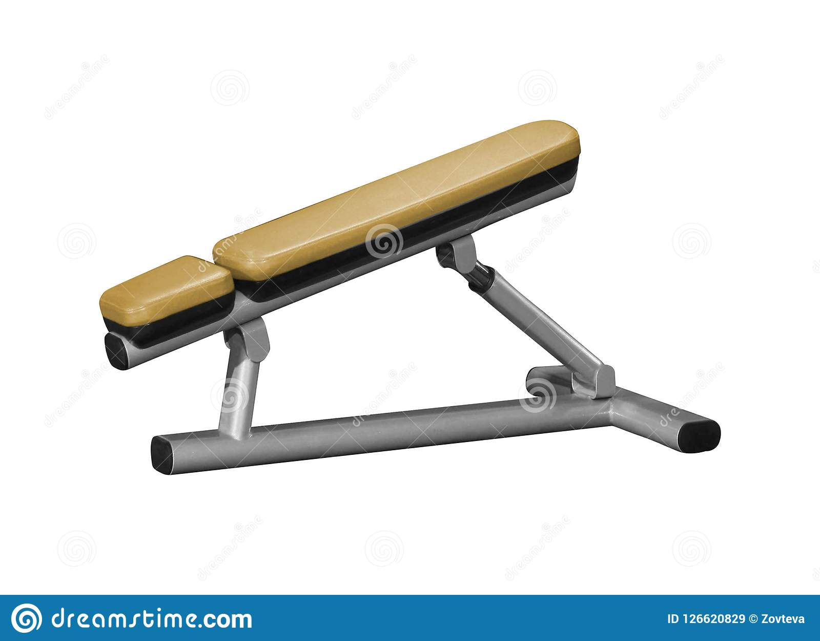 Incredible Exercise Weight Bench Stock Image Image Of Bench Isolated Pdpeps Interior Chair Design Pdpepsorg