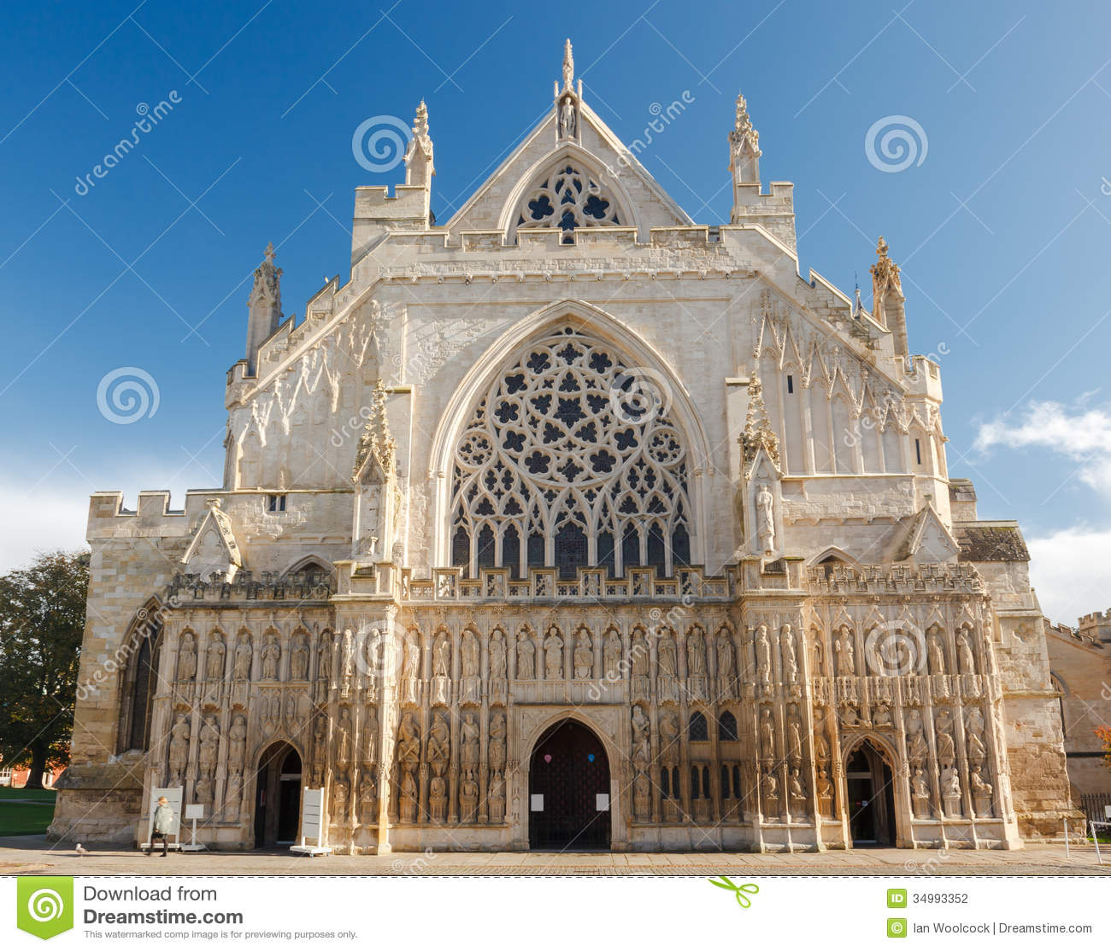 Exeter Cathedral Devon England UK