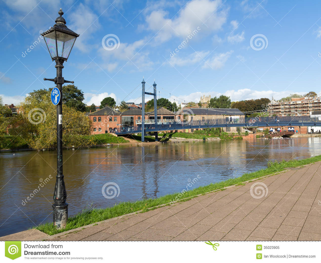 Royalty Free Stock Photo Exeter Devon England Uk Quayside Europe Image35023905 on 4