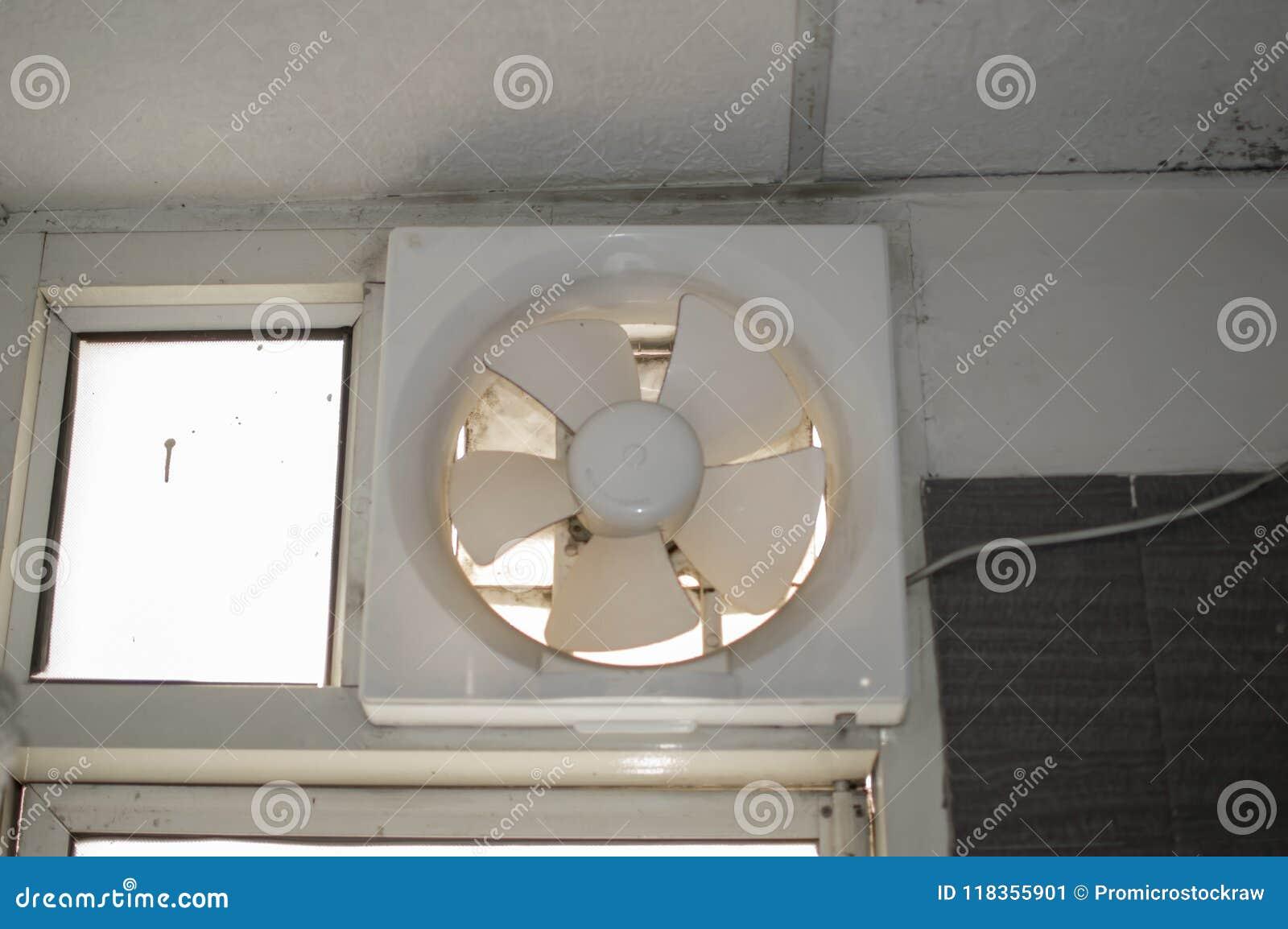Exhaust Fan In Bathroom Stock Image Image Of Cooler 118355901
