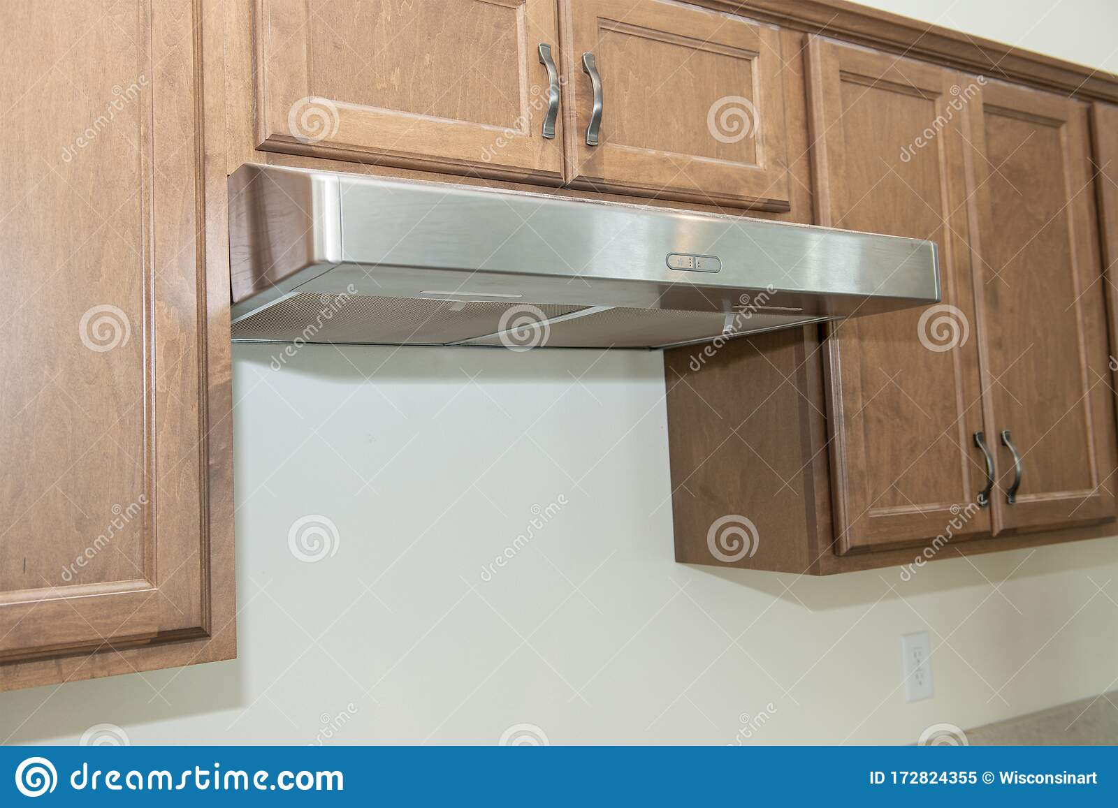 Gas Stove Exhaust Fan Kitchen Construction Stock Image Image Of Exhaust House 172824355