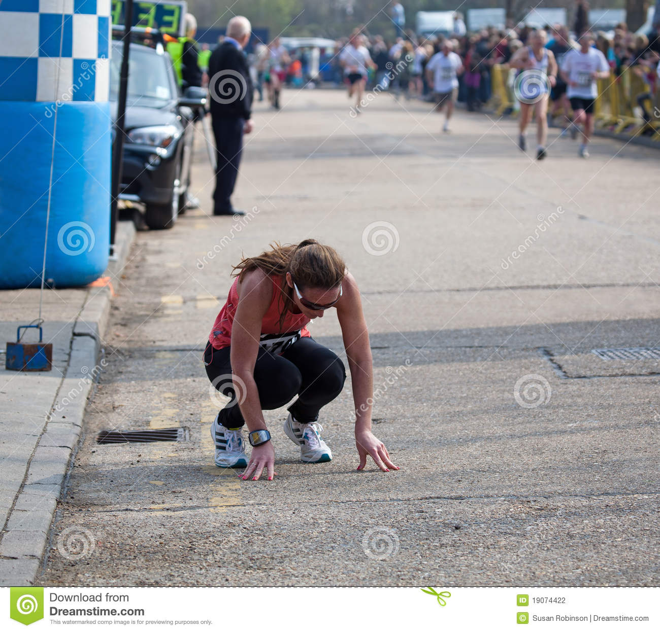 Exhausted Runner editorial photography. Image of sport ...