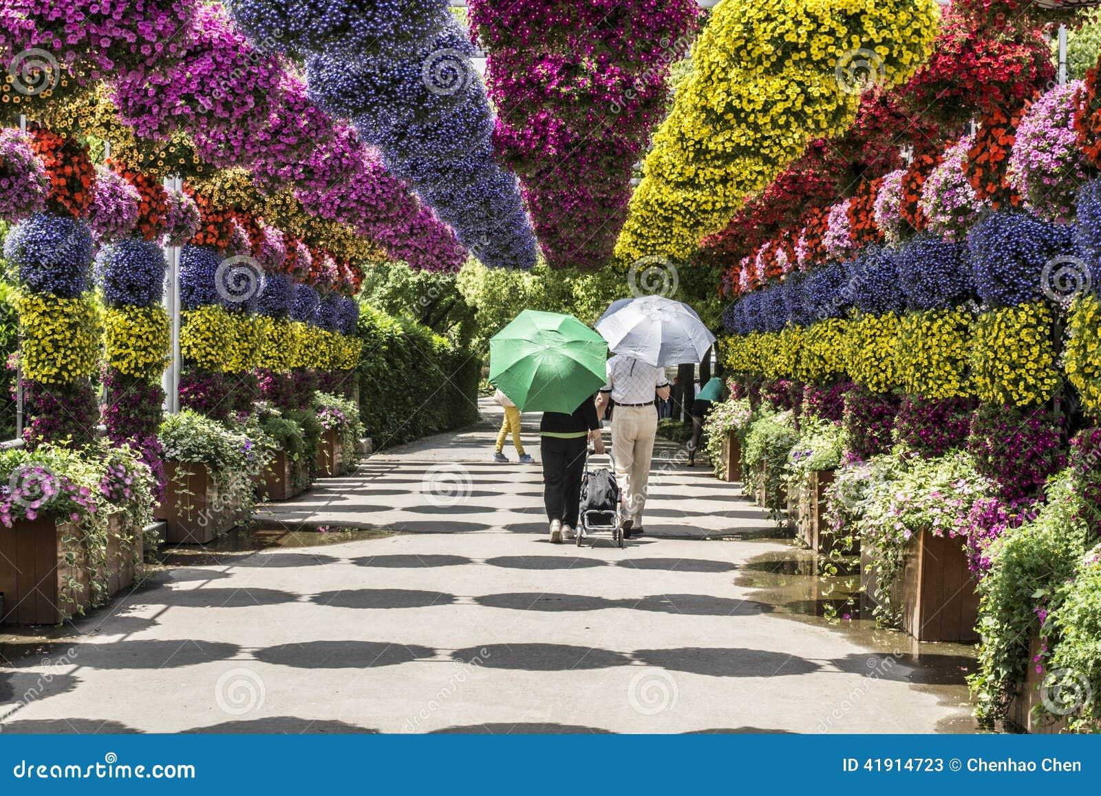 Exhibición floral