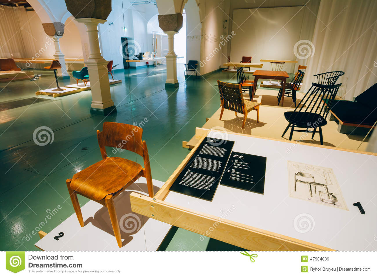 Exhibition At The Finnish Design Museum (Designmuseo) In Helsinki