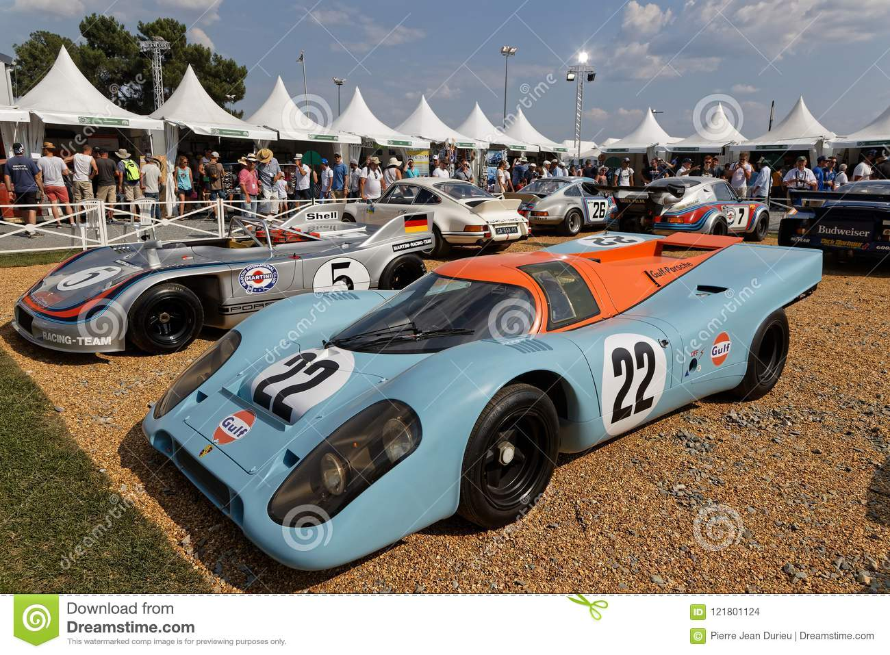 Exhibition Of Old Porsche Racing Cars Editorial Stock Image Image Of Famous Porsche 121801124