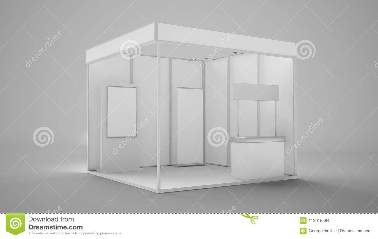 Exhibition Stand Reception : Exhibition stand booth stock illustration. illustration of fair
