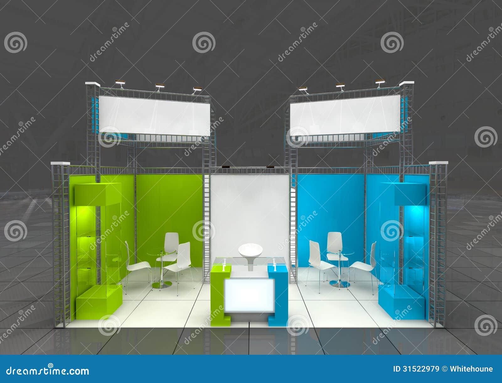 Modern Exhibition Stand Designs : Exhibition stand design stock illustration illustration of
