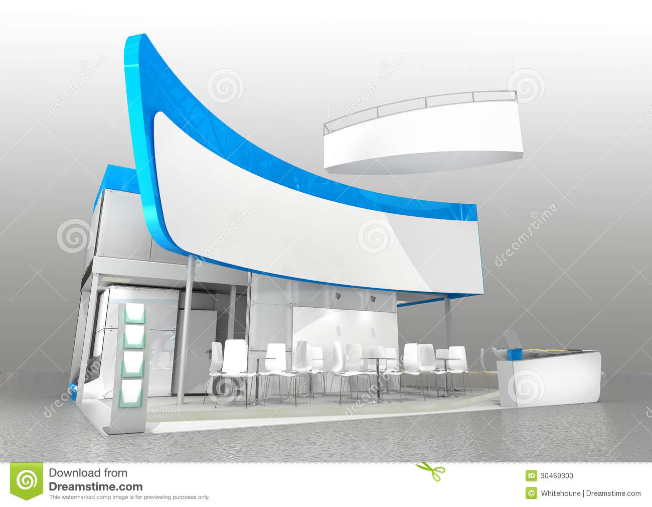 Modern Exhibition Stand Design : Exhibition stand design stock photo image of space
