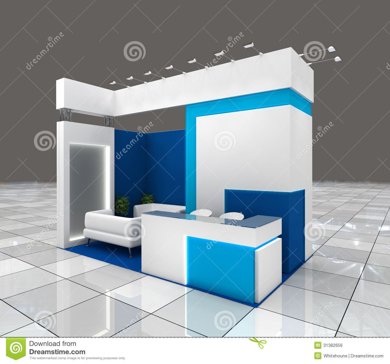 Exhibition Stand Design Small : Exhibition stand design royalty free stock image