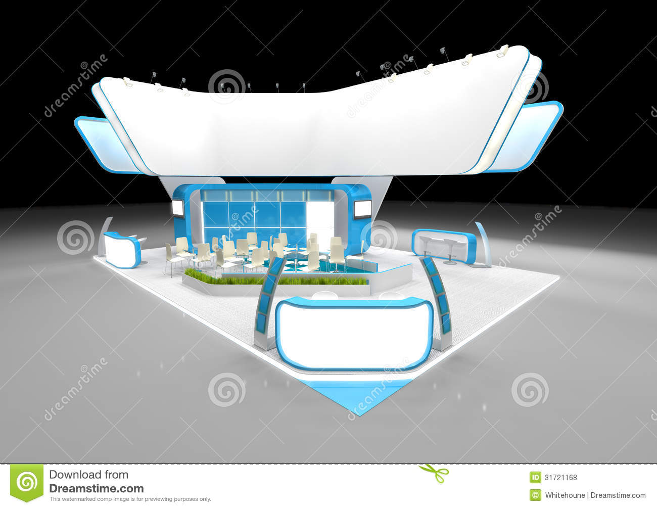 Exhibition Stand Design Download : Exhibition stand design stock illustration