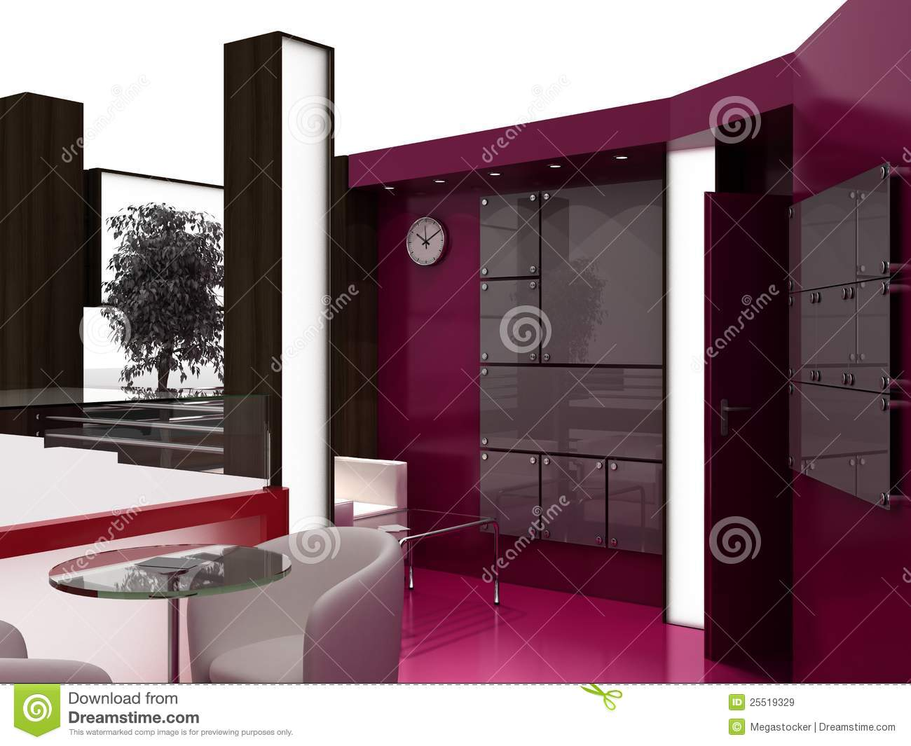 Exhibition Stand Interiors : Exhibition stand interior sample royalty free stock images