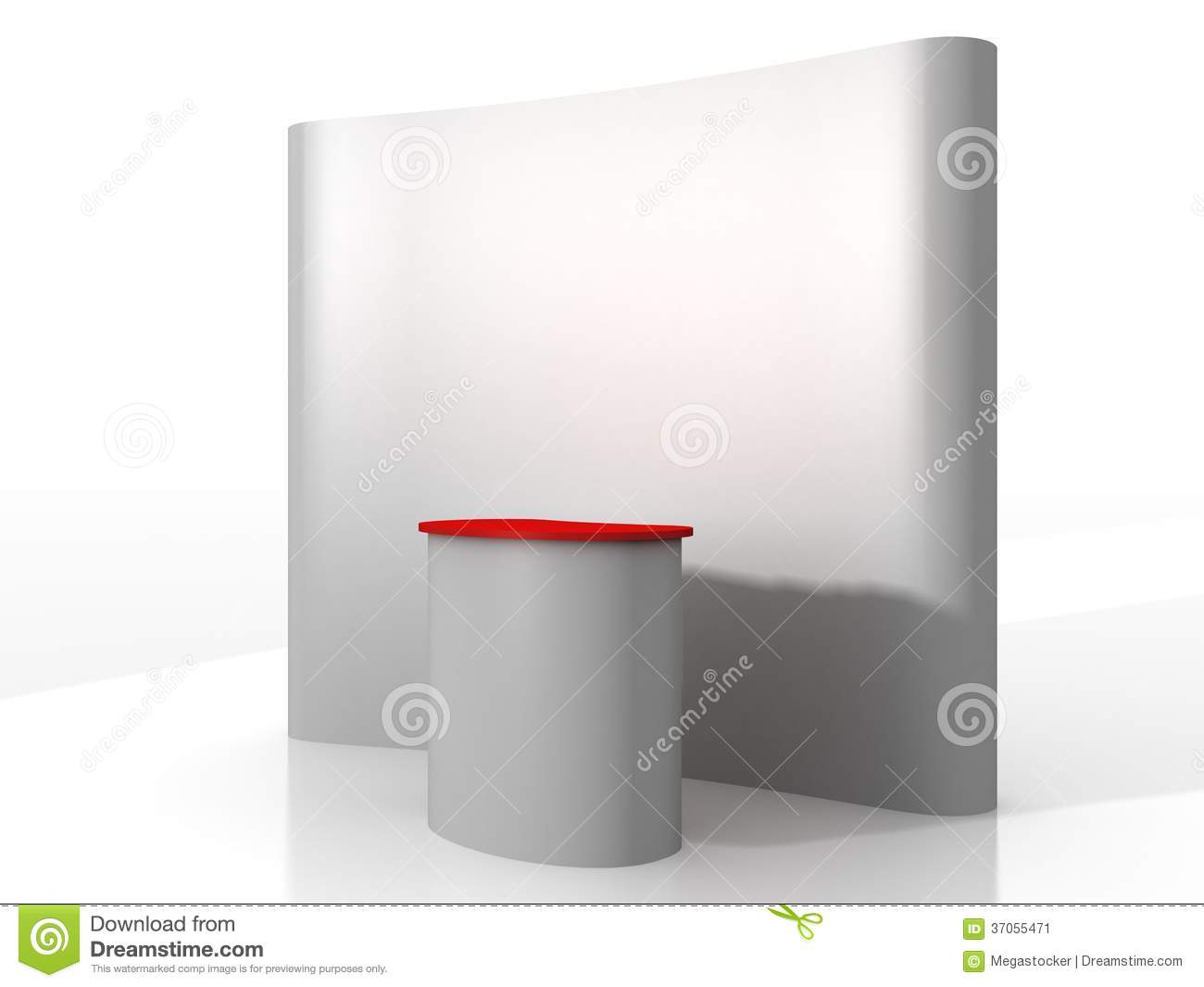 Exhibition Stand Wallpaper : Exhibition stand kiosk stock image
