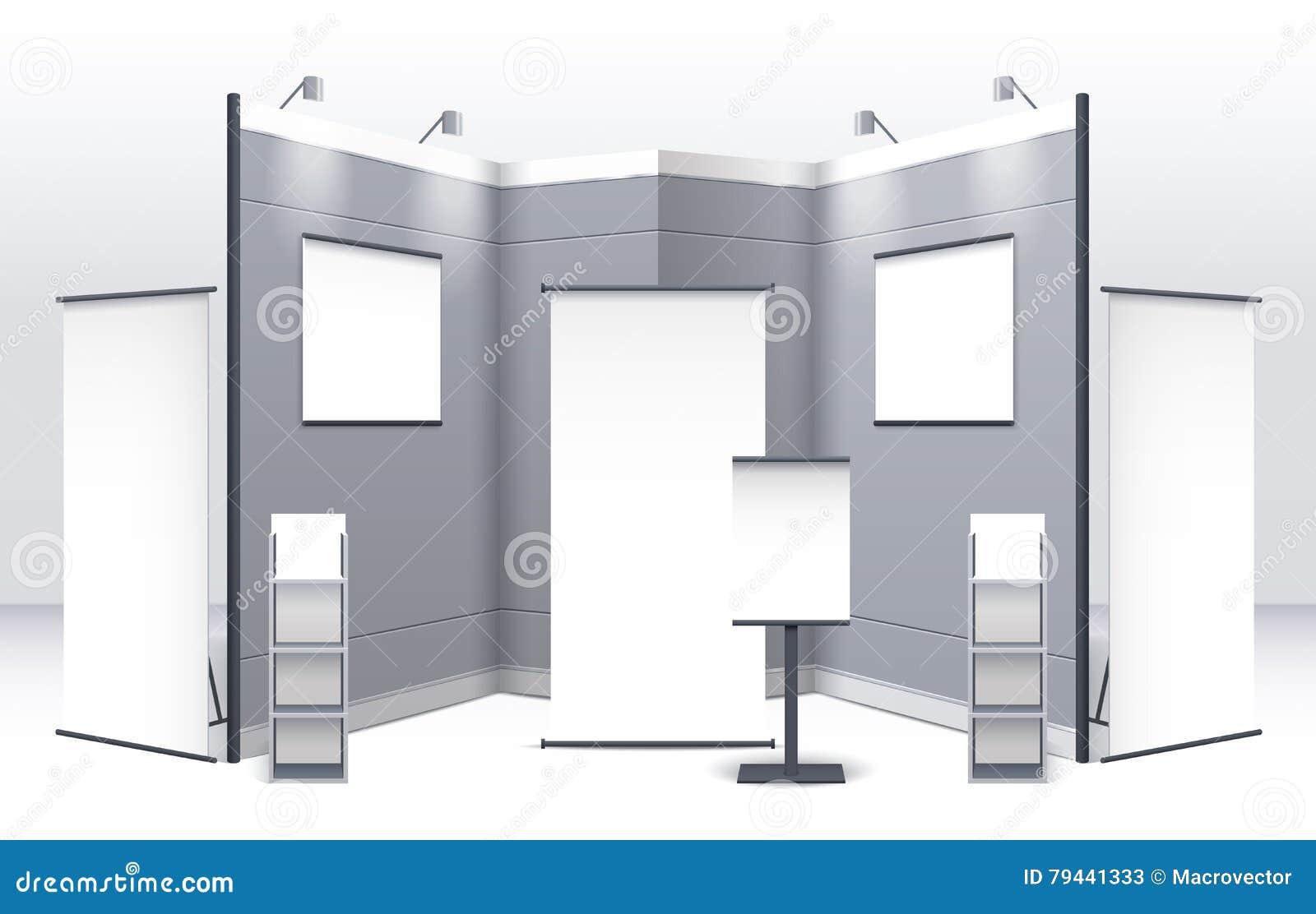 Exhibition Stand Template : Exhibition stand template royalty free illustration