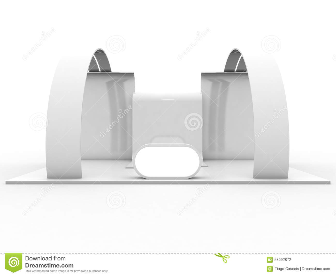 Exhibition Stand Wallpaper : Exhibition stand stock illustration image