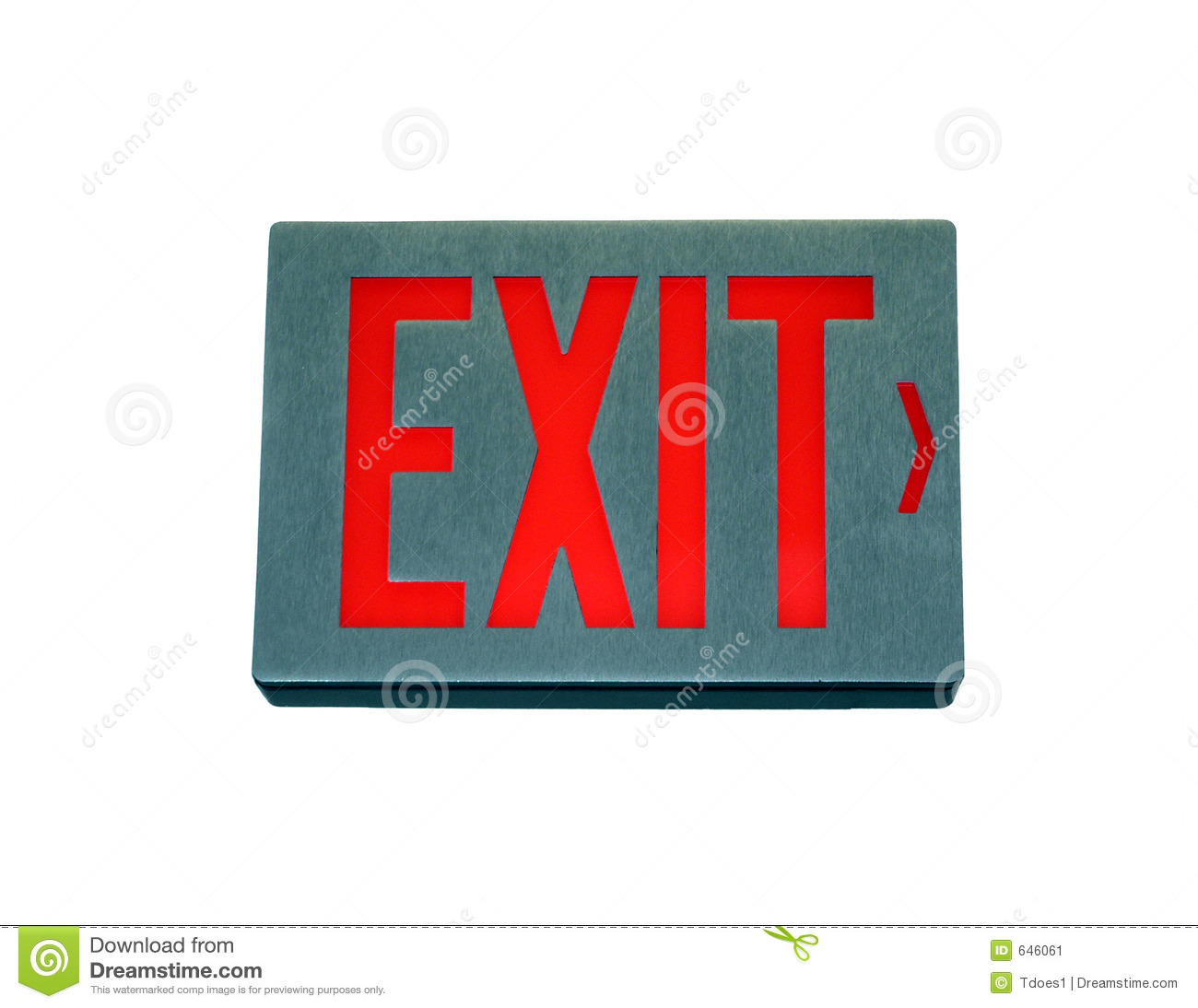 Exit Sign Stock Image  Image Of Control  Exit  Building