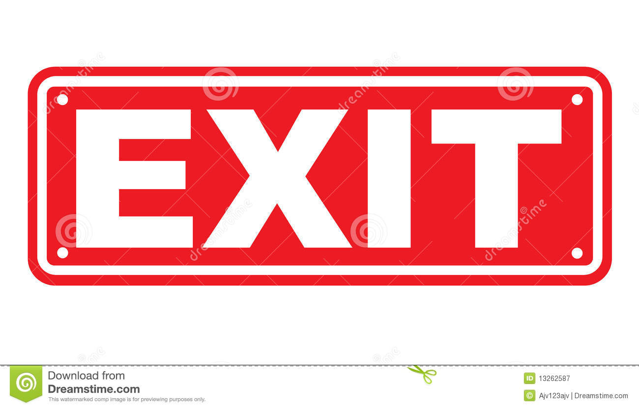 Exit sign or symbol stock vector illustration of text 13262587 exit sign or symbol buycottarizona Images