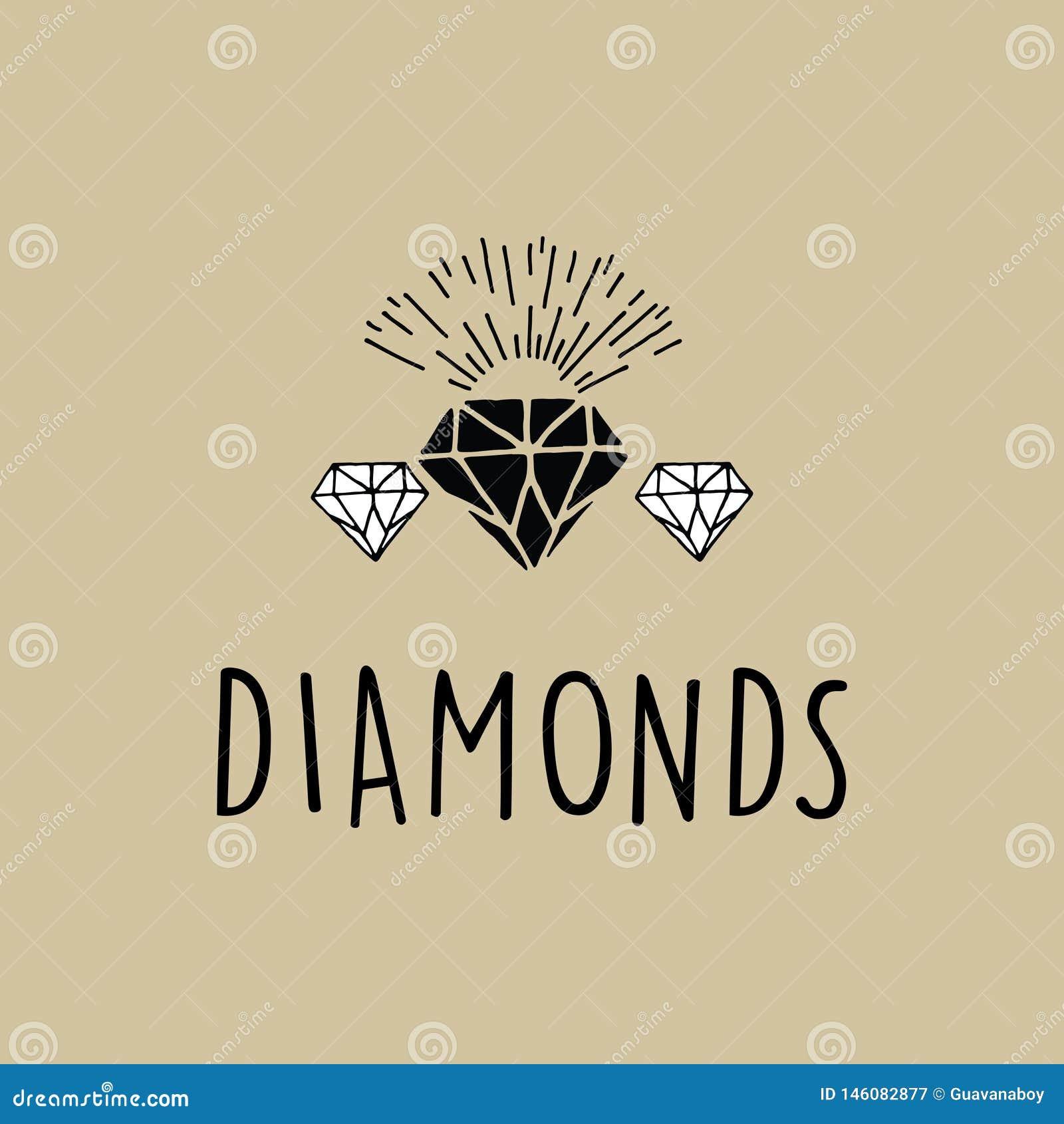 Exklusiv diamantvektor med solbristning