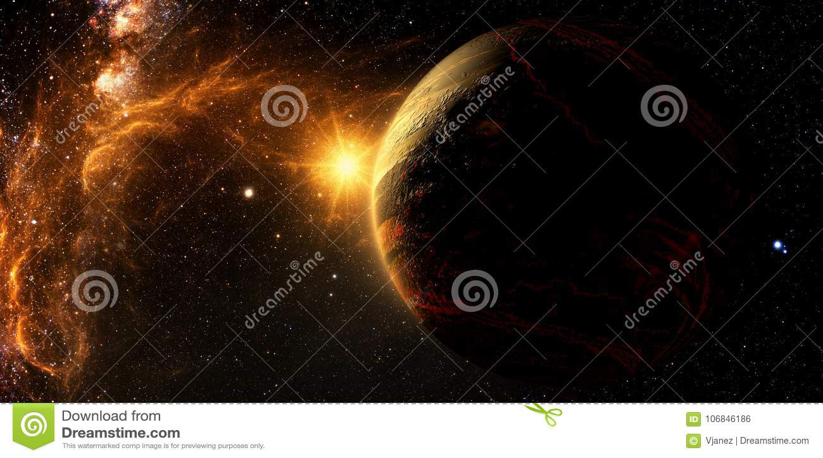 Exoplanetexploratie - Fantasie