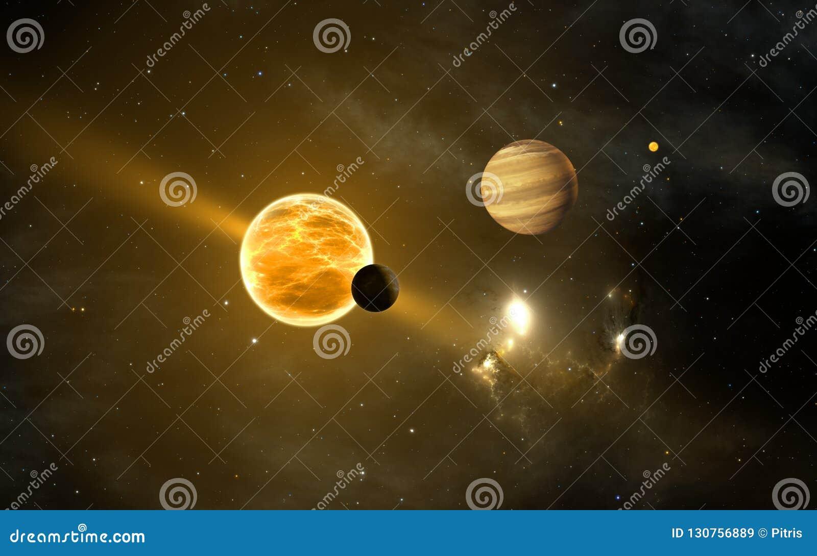 Exoplanets ou planetas extrasolar