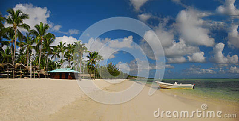 Exotic Beach in Dominican Republic, Punta Cana