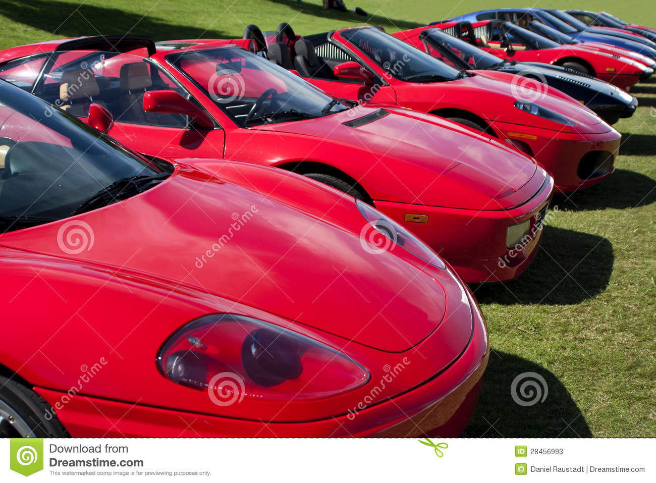 Exotic Foreign European Luxury Sports Cars Editorial Stock Photo