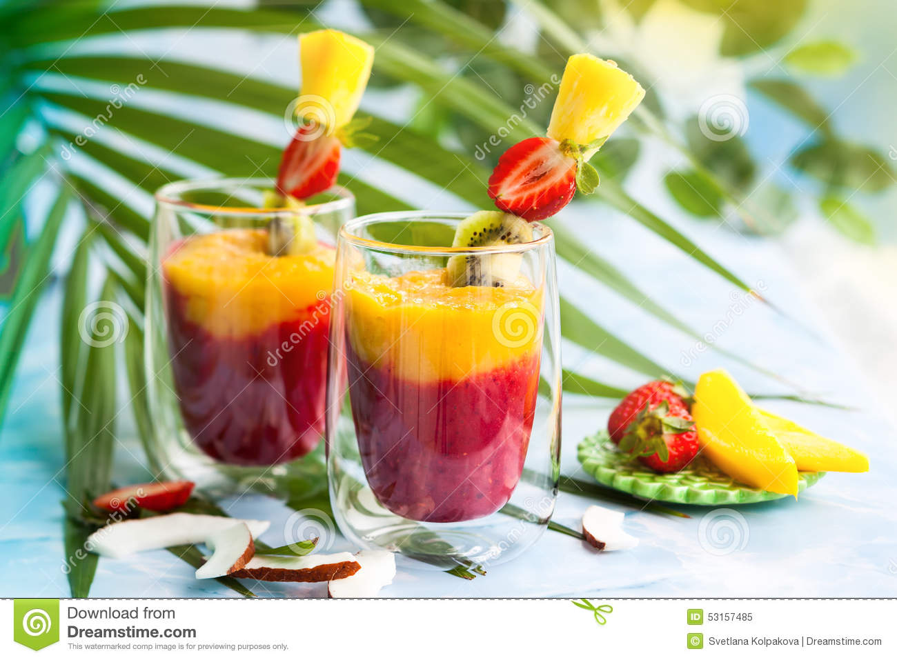 recipes for healthy fruit smoothies hawaiian fruit