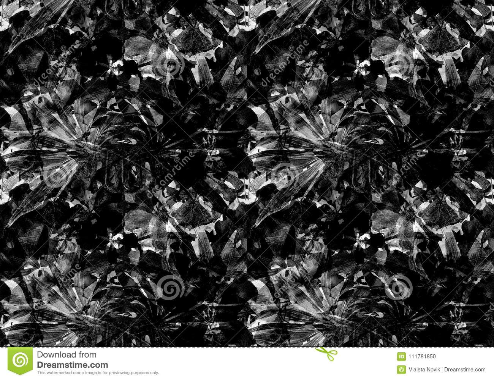 Exotic geometry seamless pattern.