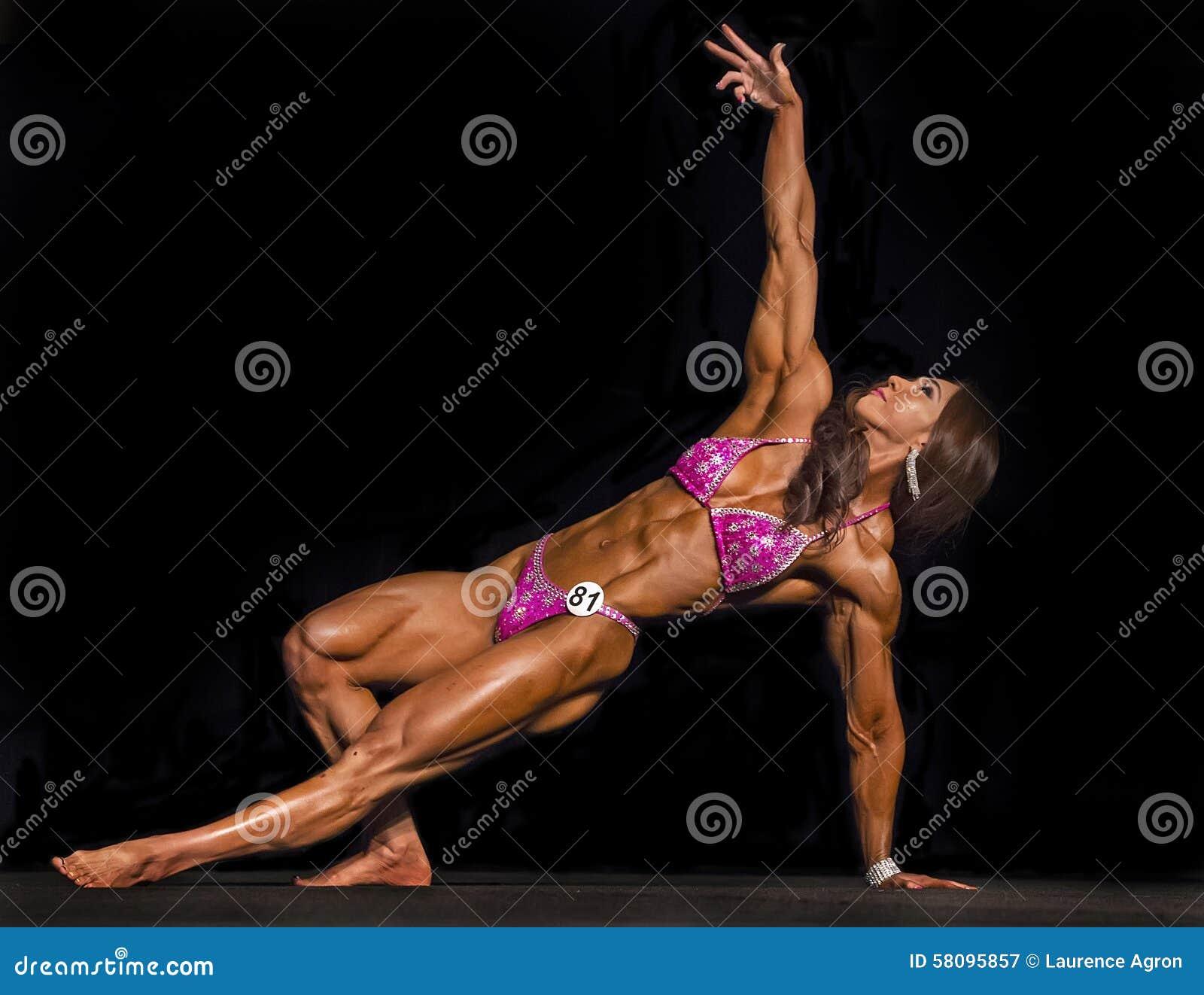 Nude asian girl in platform thongs